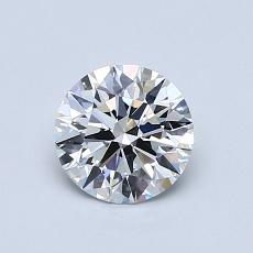 Recommended Stone #2: 0.71-Carat Round Cut Diamond