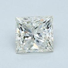 Recommended Stone #3: 1.05-Carat Princess Cut Diamond