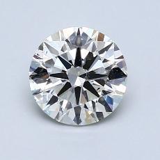 推荐宝石 2:1.12 克拉圆形切割