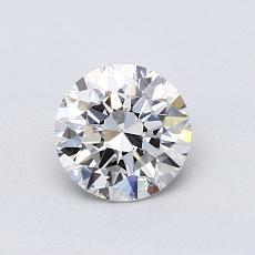 オススメの石No.4:0.75カラットラウンドカットダイヤモンド