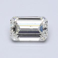 1.00 Carat Esmeralda Diamond Muy buena J SI1