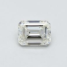 Recommended Stone #1: 0.55-Carat Emerald Cut Diamond