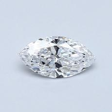 Recommended Stone #4: 0.44-Carat Marquise Cut Diamond