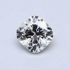 Recommended Stone #1: 0.80-Carat Cushion Cut Diamond