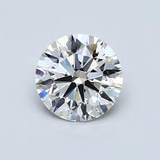 Recommended Stone #1: 0.80-Carat Round Cut Diamond