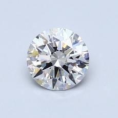 0,71-Carat Round Diamond Ideal G VS1
