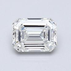 Pierre recommandée n°1: Diamant taille émeraude 0,90 carat