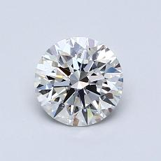 Recommended Stone #3: 0.83-Carat Round Cut Diamond