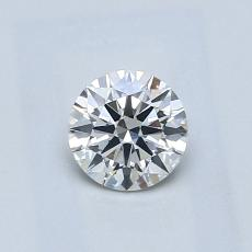 0.50 Carat 圓形 Diamond 理想 G VS2