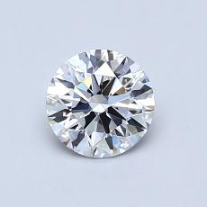 Recommended Stone #1: 0,66-Carat Round Cut Diamond