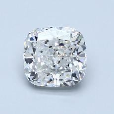 1.03-Carat Cushion Diamond Very Good F VVS2