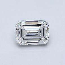 Recommended Stone #4: 0,70-Carat Emerald Cut Diamond