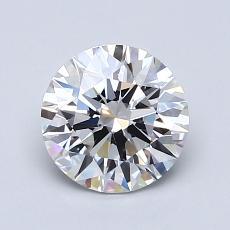 1.20 Carat 圆形 Diamond 理想 E IF