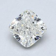 1.21-Carat Cushion Diamond Very Good J VS1