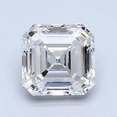 Recommended Stone #3: 1.51-Carat Asscher Cut Diamond