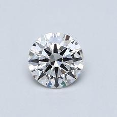 0.41 Carat 圓形 Diamond 理想 F SI2