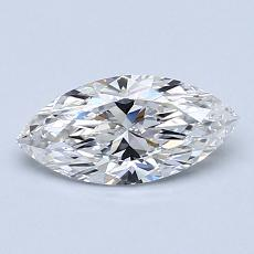 0,70-Carat Marquise Diamond Very Good E IF