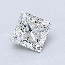 1,01-Carat Princess Diamond Very Good G VS1