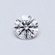 0.40 Carat 圓形 Diamond 理想 D VS2