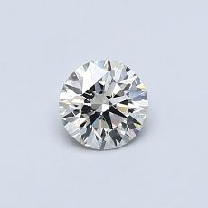 0.40-Carat Round Diamond Ideal J VS2