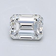 Piedra recomendada 3: Diamante de talla esmeralda de 0.95 quilates