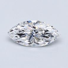 オススメの石No.1:0.57カラットのマーキスカットダイヤモンド