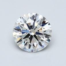 1.01 Carat Redondo Diamond Ideal H VVS2