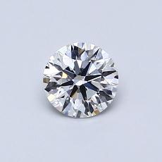 0.50 Carat 圆形 Diamond Astor 理想 F VVS1