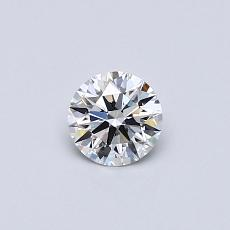 Recommended Stone #1: 0.33-Carat Round Cut