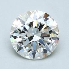 1.50-Carat Round Diamond Ideal I VVS2