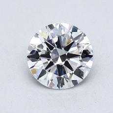 0.71-Carat Round Diamond Ideal E VVS2