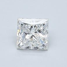Recommended Stone #1: 0.90-Carat Princess Cut Diamond