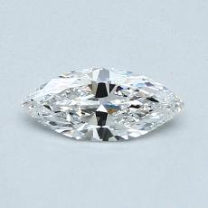 0,35-Carat Marquise Diamond Very Good E VS1
