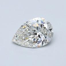 0.60 Carat 梨形 Diamond 非常好 I SI1