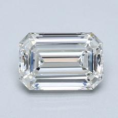 1.20 Carat Esmeralda Diamond Muy buena G VVS1