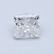 Recommended Stone #3: 1.01-Carat Princess Cut Diamond