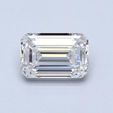 Recommended Stone #3: 0.82-Carat Emerald Cut Diamond