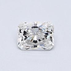 Pierre recommandée n°1: Diamant Taille radiant de 0,47carat