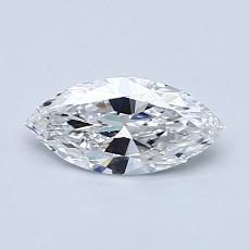 0.50 Carat Marquesa Diamond Muy buena D VS1