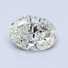 1.00-Carat Oval Diamond Very Good K VS2