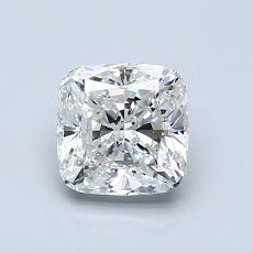 1,04-Carat Cushion Diamond Very Good G VS1