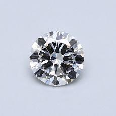 0.49-Carat Round Diamond Good G VS1