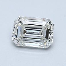 1.04 Carat Esmeralda Diamond Muy buena H VS1