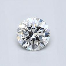 0.60-Carat Round Diamond Ideal G VS2