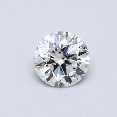0.41 Carat Redondo Diamond Ideal F VVS1