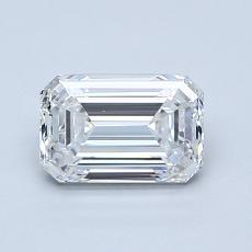 1.03 Carat 绿宝石 Diamond 非常好 E IF