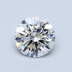 0.83 Carat 圆形 Diamond 理想 E IF