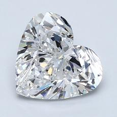 2.01-Carat Heart Diamond Very Good E VS1