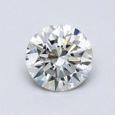 0.76 Carat 圓形 Diamond 理想 I VVS2