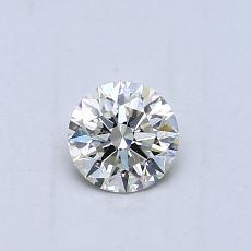 推荐宝石 3:0.42克拉圆形切割钻石